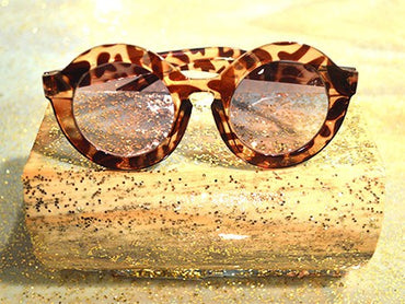 Kid's Round Tortoise Sunglasses