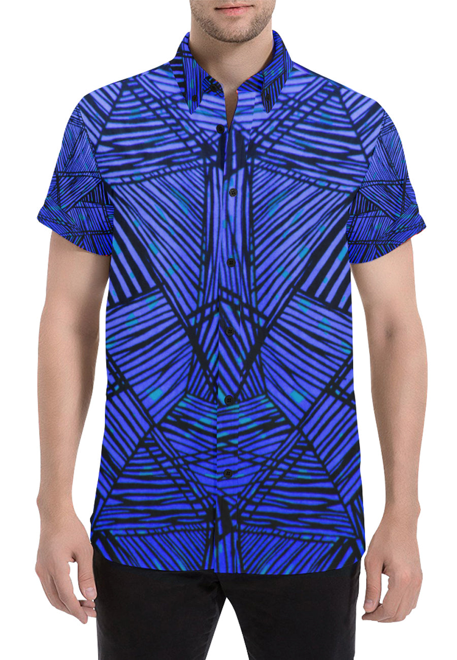 Safari Button Down- Blue