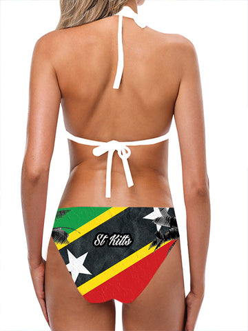 St Kitts Flag Bathing Suit