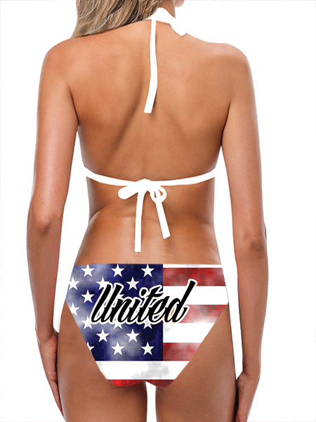 USA Flag Bathing Suit - Lila Nikole
