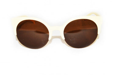 Wing Cream Sunglasses