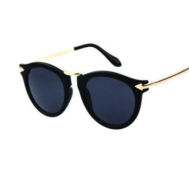 Arrow Black Sunglasses - Lila Nikole