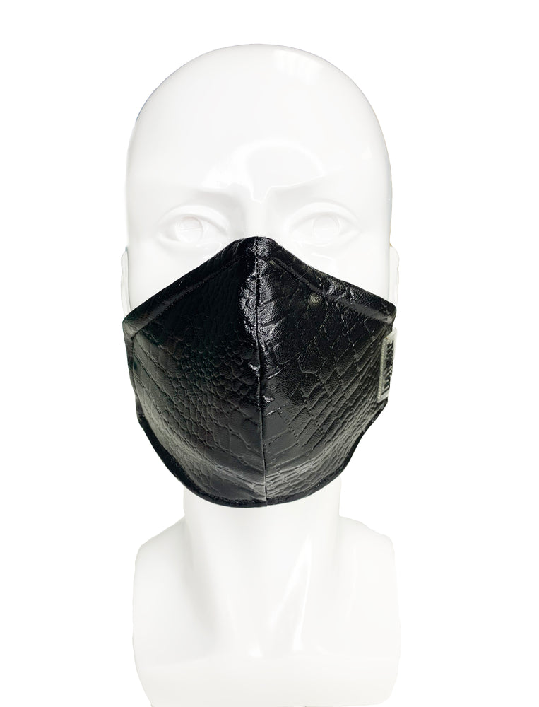 Load image into Gallery viewer, Black Snake Mask - Lila Nikole