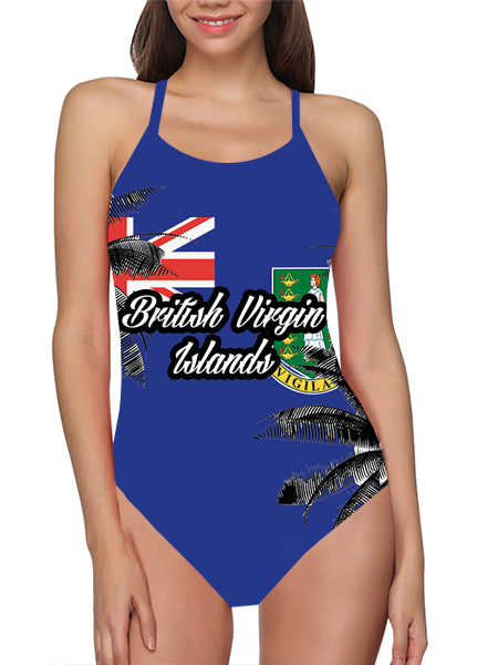 British Virgin Islands Flag Bathing Suit - Lila Nikole