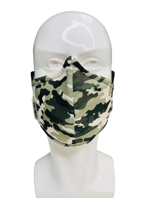 Load image into Gallery viewer, Gray Camouflage Face Mask - Lila Nikole