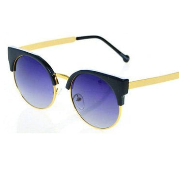 Cateye Black Sunglasses - Lila Nikole