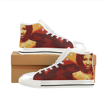 Celia Cruz Style 2 Custom Sneakers