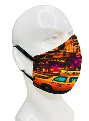 Load image into Gallery viewer, Custom Artwork Face Mask 2 - Lila Nikole