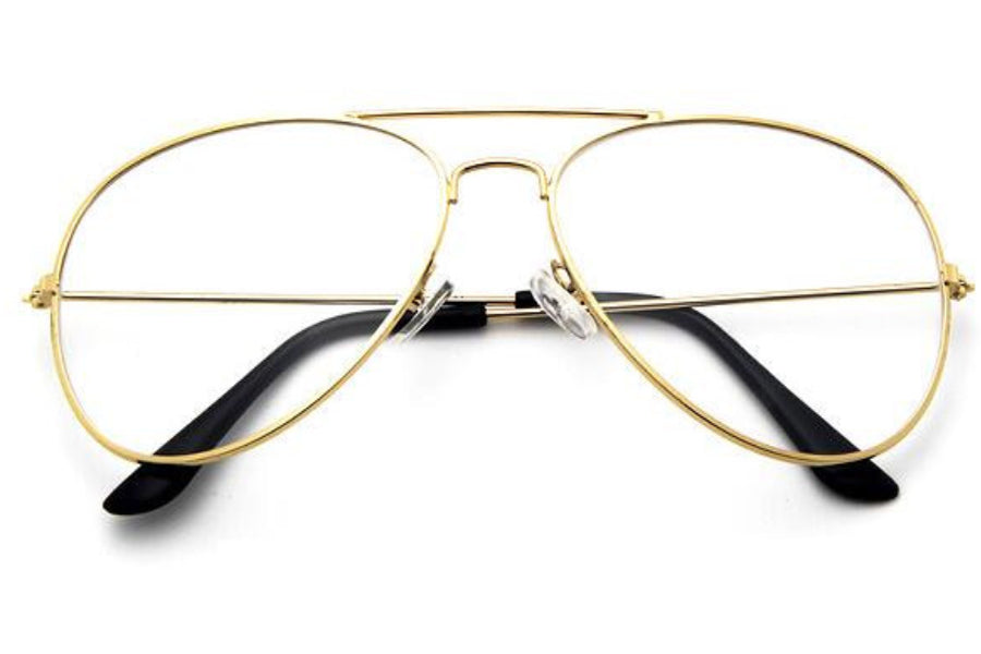 Gold Aviator Glasses