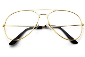Gold Aviator Glasses - Lila Nikole