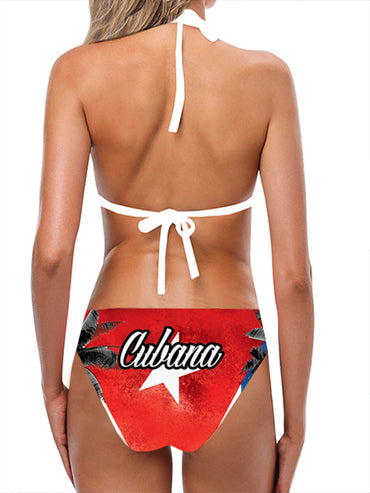 Cuba Flag Bathing Suit