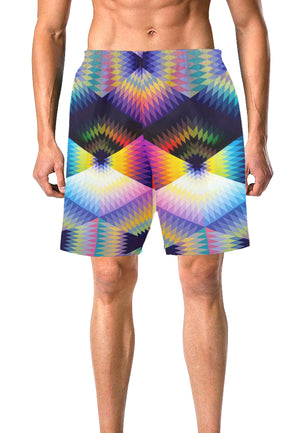 Load image into Gallery viewer, Cyclone Board Shorts - Lila Nikole