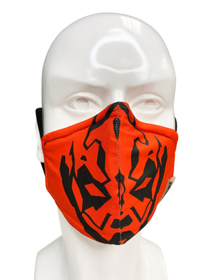 Load image into Gallery viewer, Darth Maul Face Mask - Lila Nikole