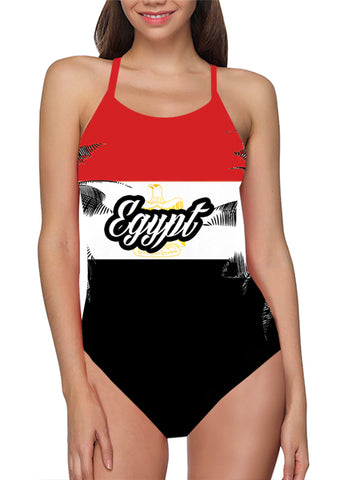 Egypt  Flag Bathing Suit