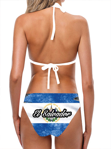 El Salvador Flag Bathing Suit