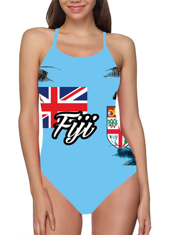 Fiji Flag Bathing Suit
