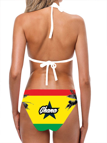 Ghana Flag Bathing Suit