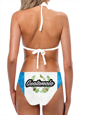 Guatamala Flag Bathing Suit - Lila Nikole