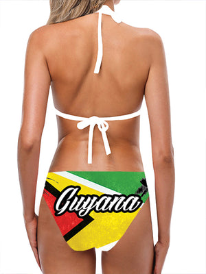 Load image into Gallery viewer, Guyana Flag Bathing Suit - Lila Nikole