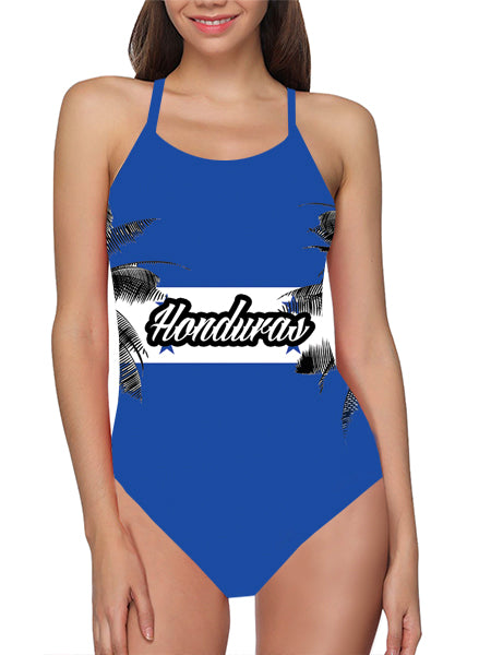 Honduras Flag Bathing Suit