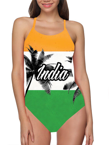 India Flag Bathing Suit