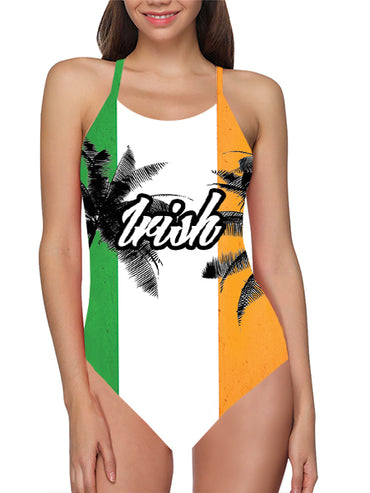 Ireland Flag Bathing Suit