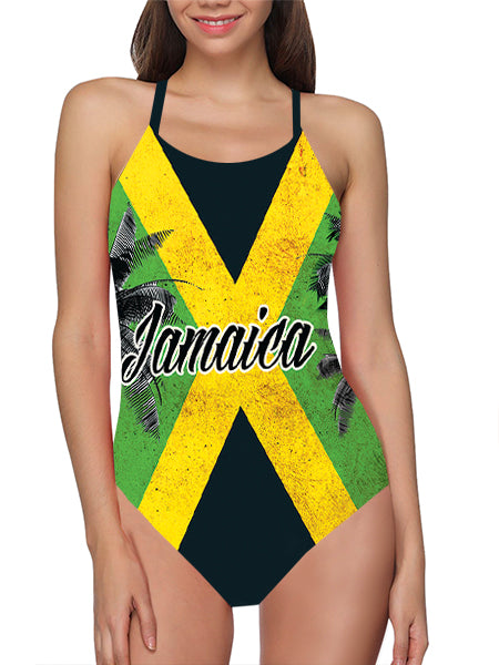 Jamaica Flag Bathing Suit