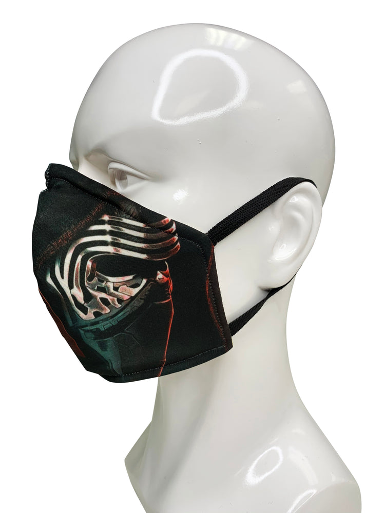 Load image into Gallery viewer, Kylo Ren/ Darth Vader Face Mask - Lila Nikole