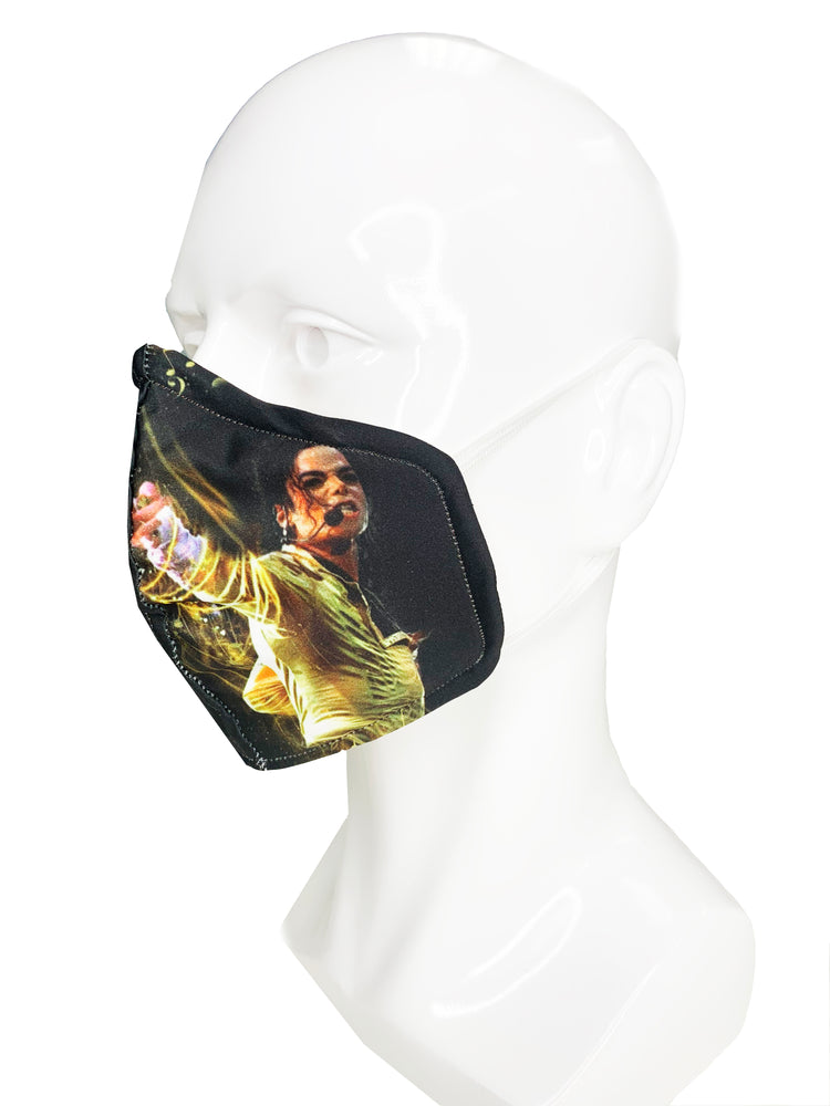 Load image into Gallery viewer, Michael Jackson Face Mask - Lila Nikole