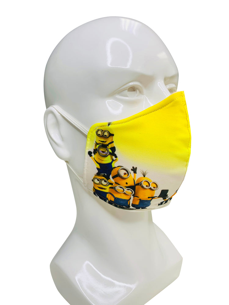 Load image into Gallery viewer, Minions Face Mask - Lila Nikole