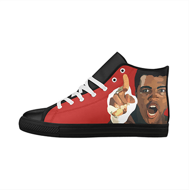 Muhammed Ali Custom Sneakers- Black