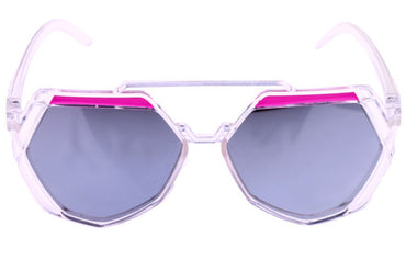 Octagon Purple Kid's Sunglasses