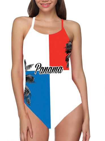Panama Flag Bathing Suit