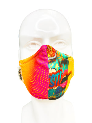 Pop Art Custom Face Mask - Lila Nikole
