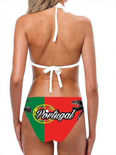 Portugal Flag Bathing Suit