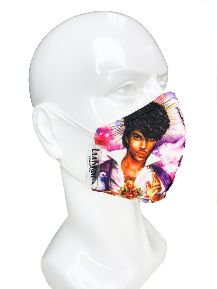 Load image into Gallery viewer, Prince Face Mask - Lila Nikole