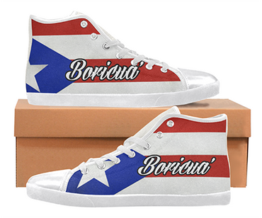 Puerto Rico Custom Sneakers