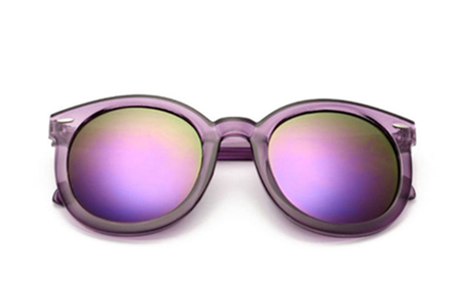 Purple Polarized Sunglasses