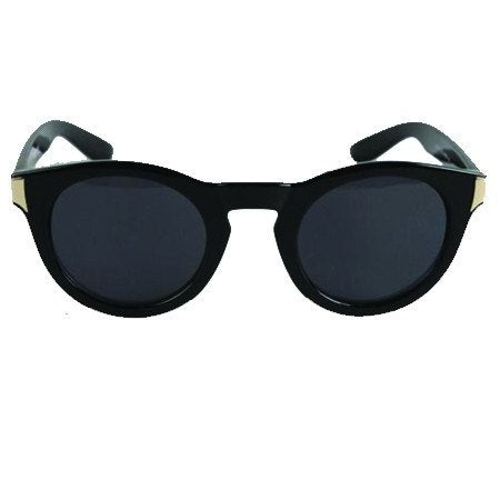 Rivet Black Sunglasses