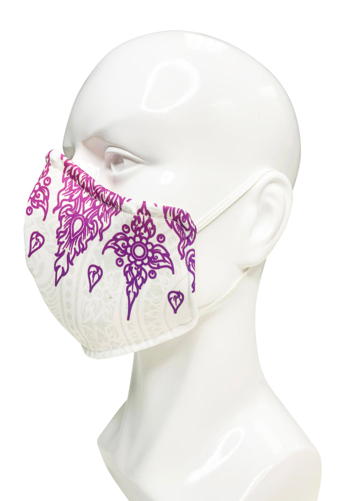 Load image into Gallery viewer, Signature Print 6 Face Mask - Lila Nikole