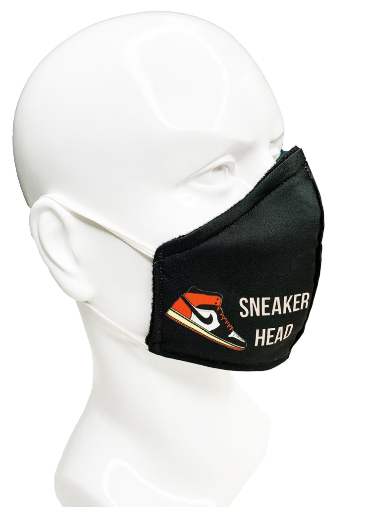 Sneaker Head Face Mask