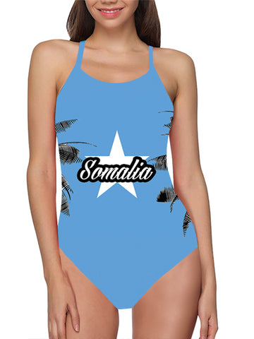 Somalia Flag Bathing Suit