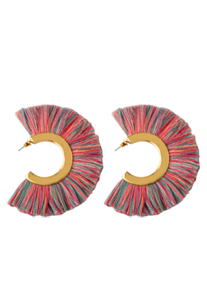 Spartan Fringe Earrings