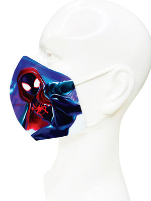 Spiderman Spiderverse Face Mask - Lila Nikole