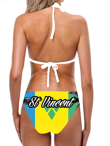 St Vincent / Grenadine Flag Bathing Suit