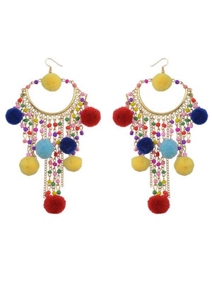 Load image into Gallery viewer, Tassel Earrings 11 - Lila Nikole