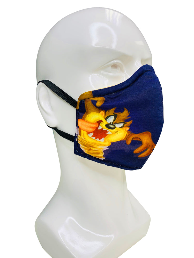 Load image into Gallery viewer, Tazmanian Devil Face Mask - Lila Nikole