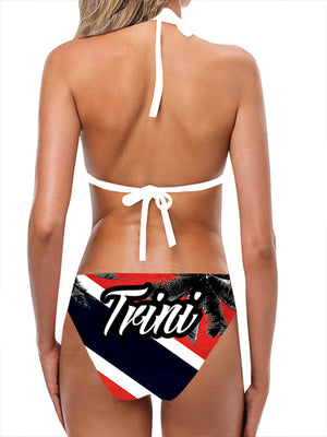 Trinidad Flag Bathing Suit - Lila Nikole