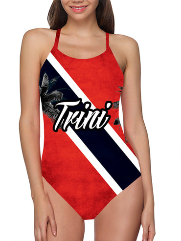 Trinidad Flag Bathing Suit
