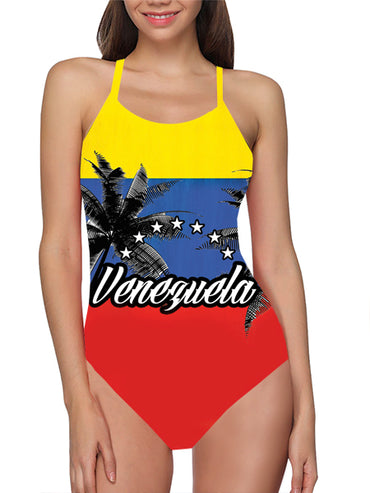 Venezuela Flag Bathing Suit